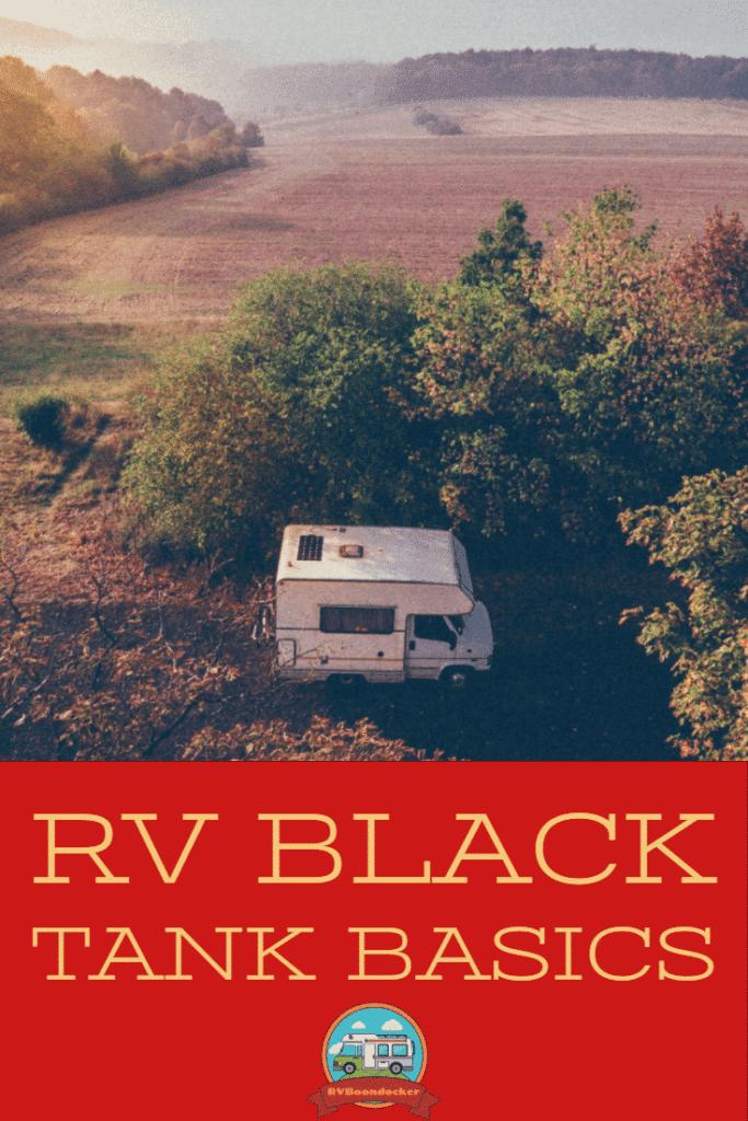 rv black tank emptying