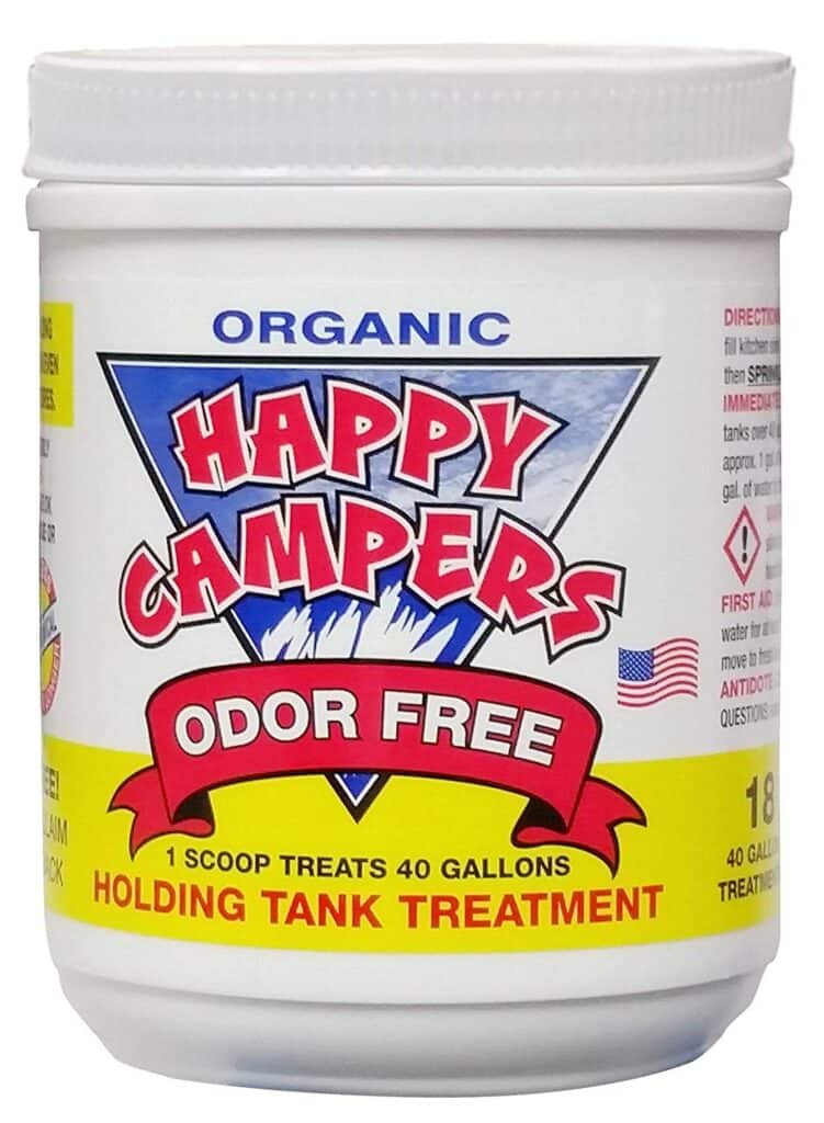 happy campers organic rv toilet treatment