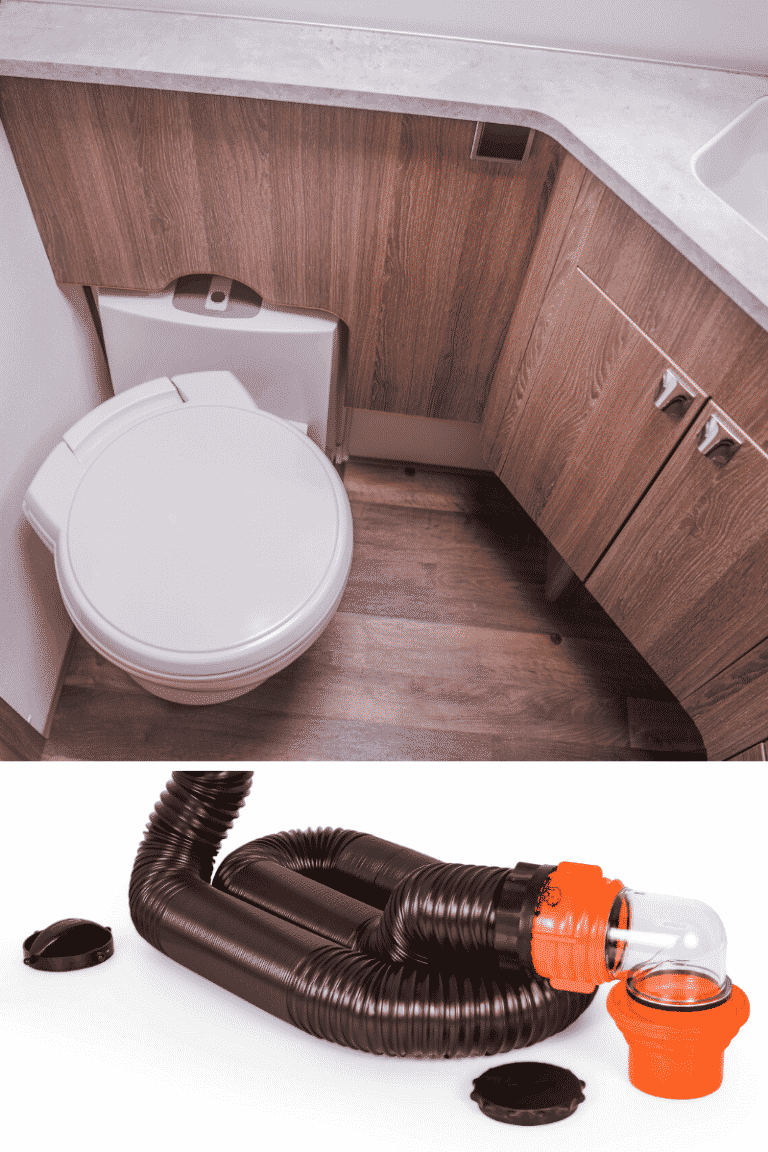 rv sewer hose for rv bathroom