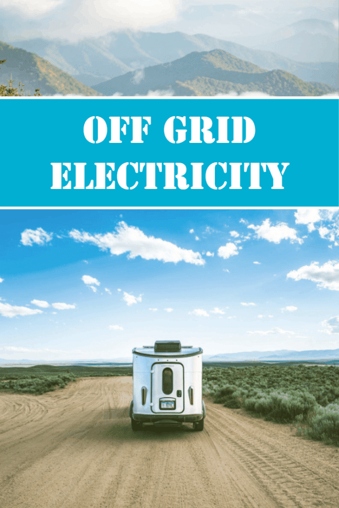 Electricity solutions for camping off grid also known as rv boondocking