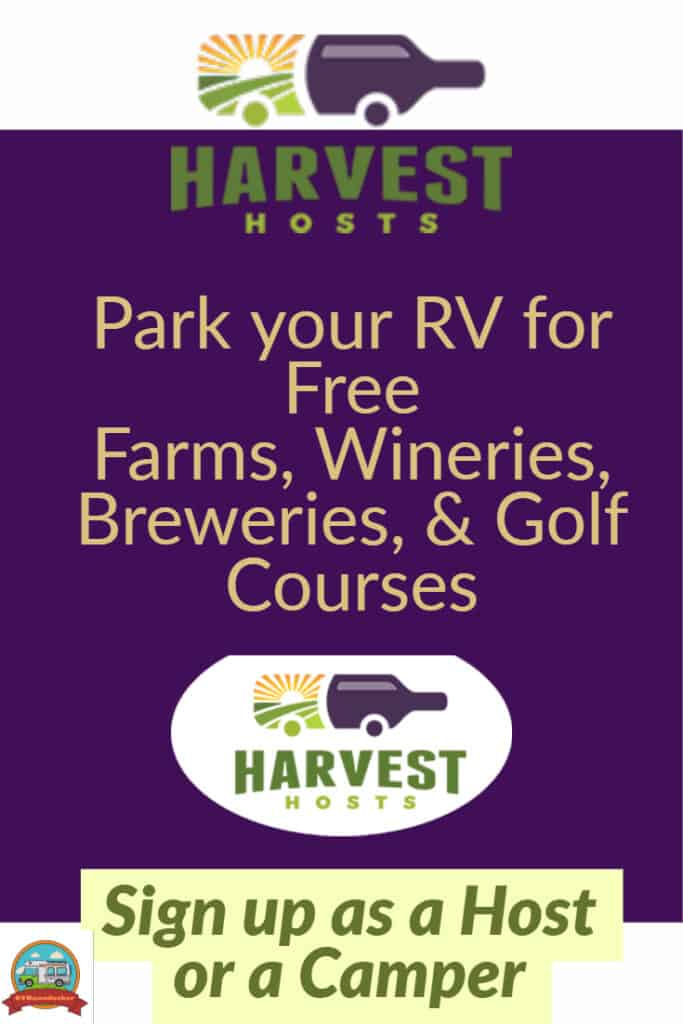 Harvest Host offering resources and rv camping at wineries, farms, breweries, and golf courses.