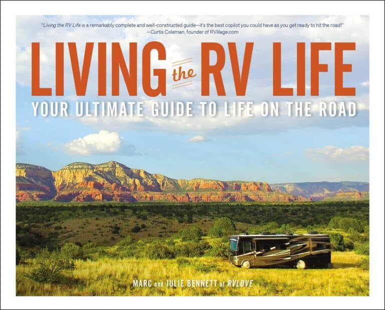 rv book living the rv life