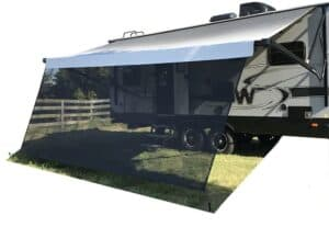 awning shade for rv camping