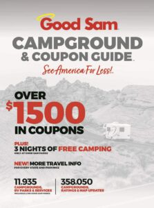 camping discount book good sam