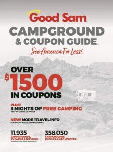 camping discount book good sam