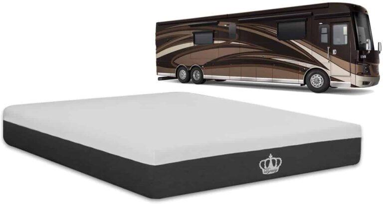 rv mattress featured with class a rv