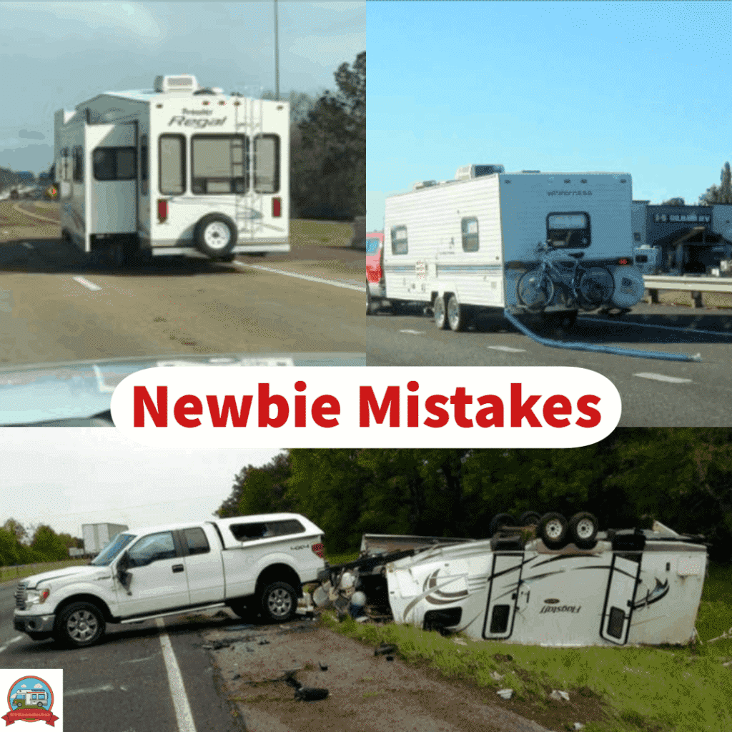 RV mistakes, RV camping accidents