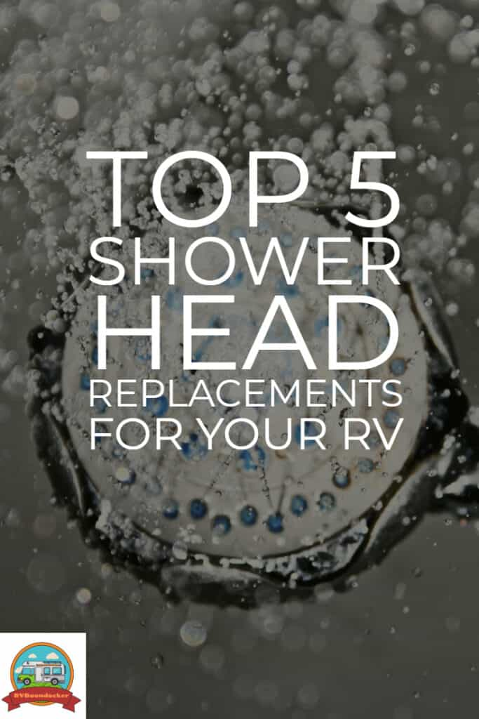top shower head replacements for your RV