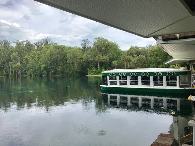 Glass Bottom Boat at Silver Springs State Park Florida