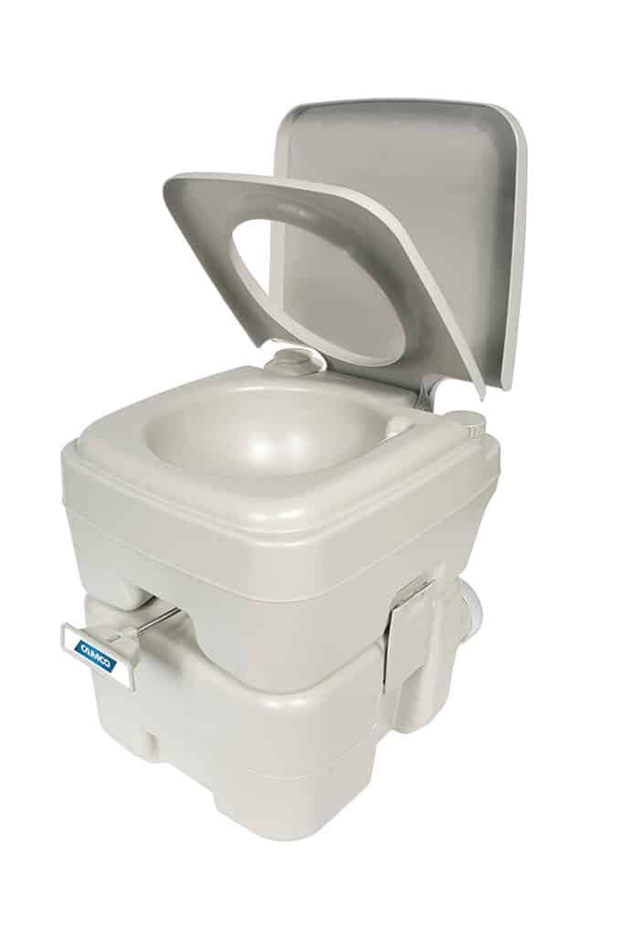 Composting toilet that can be used in an RV or while RV Boondocking