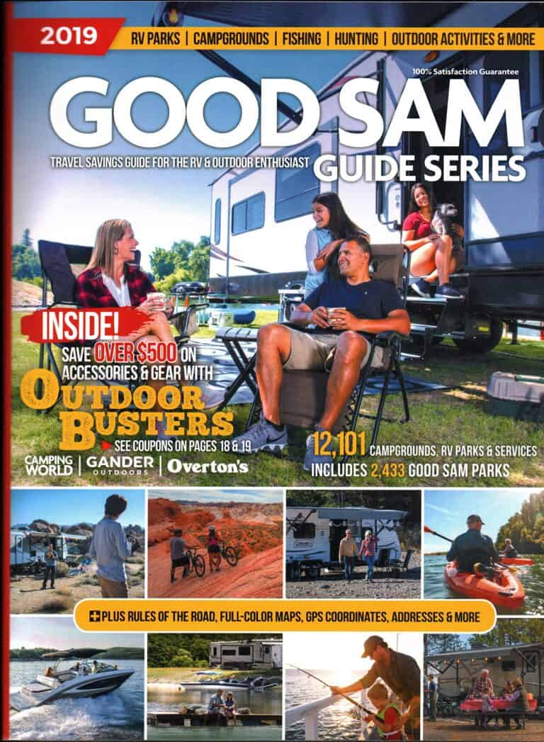 Good Sam Guide Series Book for Outdoor Adventure