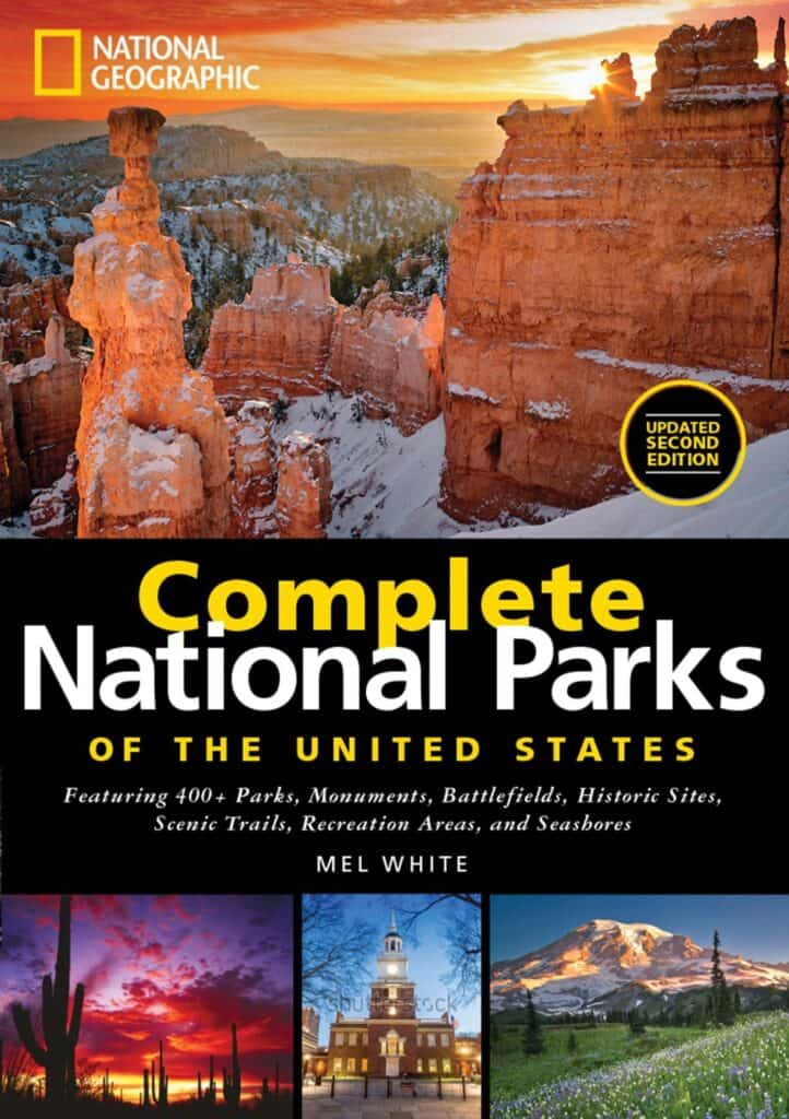 Complete National Parks of the United States guide book RV Road Trip