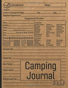 camping journal to write in