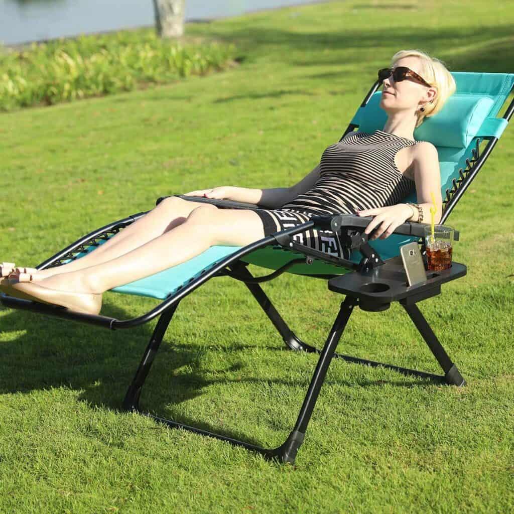 rv camping chair zero gravity