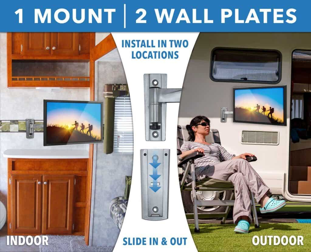 RV TV mount gift for rv owners