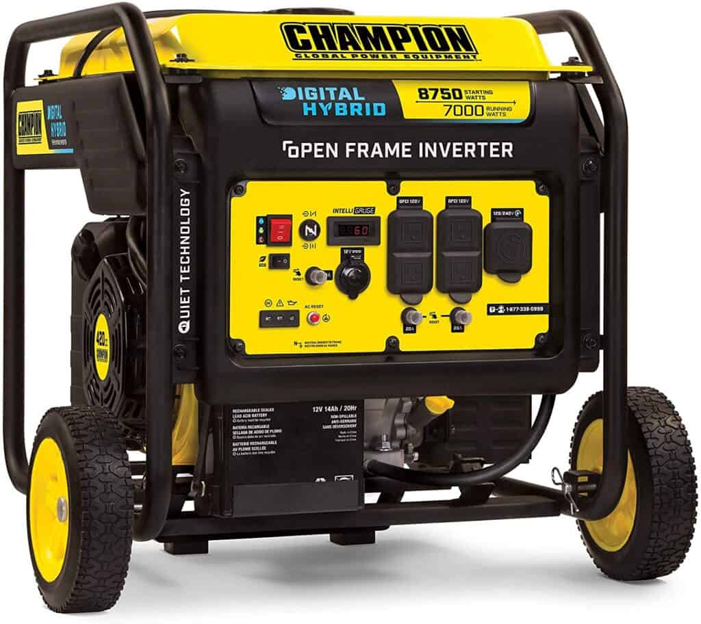 generator for electricity while rv camping