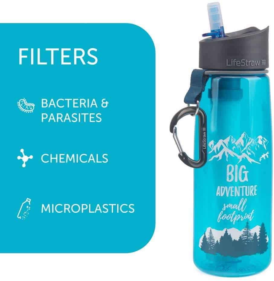 water filter for dry camping
