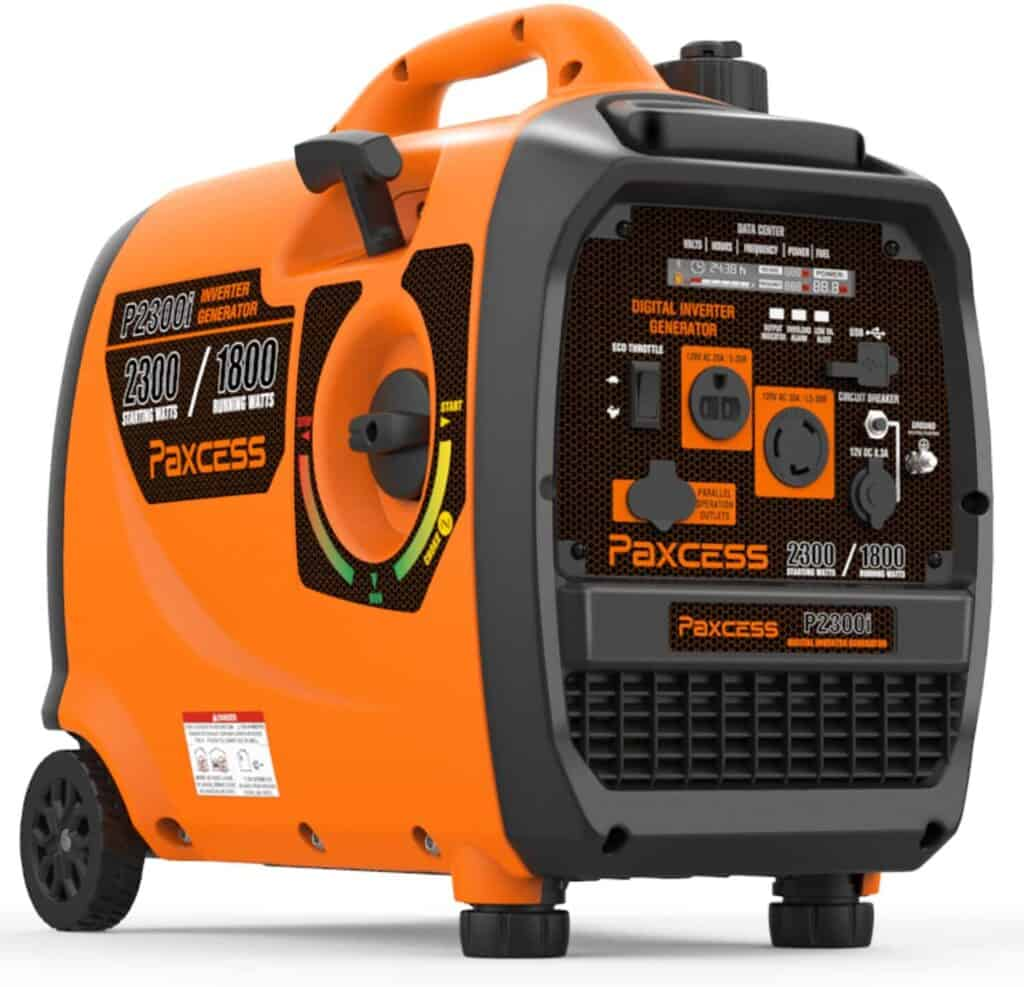 inverter generator for rv boondocking camping