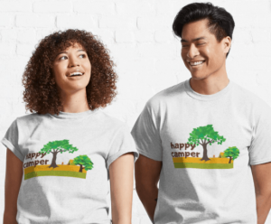 happy camper tshirts