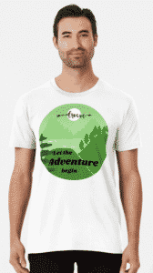 adventure shirt for travel lover