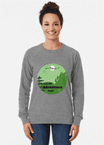 let the adventure begin camping shirt