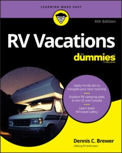 rv vacations for dummies book