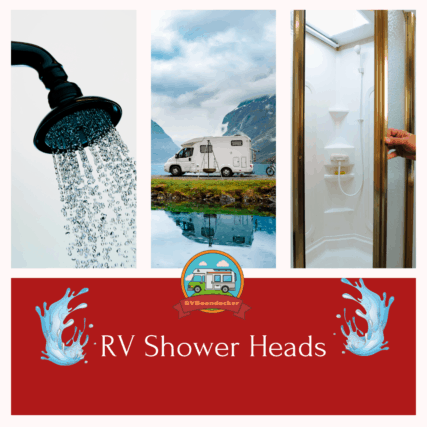 rv shower heads