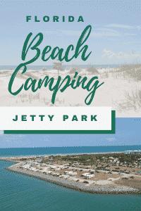 florida beach camping jetty park