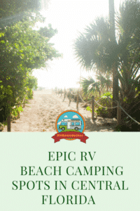 rv beach camping in central florida