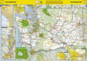 map view of road atlas