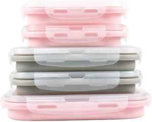 RV kitchen collapsible containers