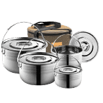 nesting pots for tiny kitchen or RV camper