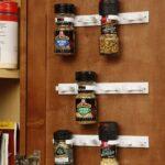 Spice holder rv kitchen accessory